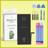 NEW REPLACEMENT BATTERY FOR APPLE iPHONE 7 PLUS OEM 2910mAh With TOOLS & TAPES