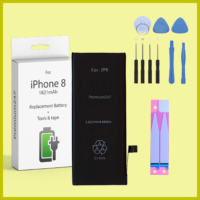 NEW REPLACEMENT BATTERY FOR APPLE iPHONE 8 OEM 1821 mAh With TOOLS & TAPES
