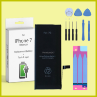 NEW REPLACEMENT BATTERY FOR APPLE iPHONE 7 OEM 1960mAh With TOOLS & TAPES