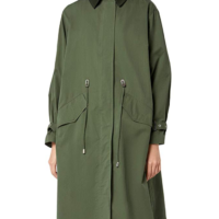 Find Womens Parka- Khaki Size Medium