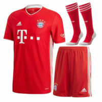 2020/21 Bayern Soccer Football Jersey Sport Shirt Kids Boys Adult Kit