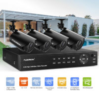 4CH 1080N 5 IN 1 Video AHD DVR +4x 720P Camera Outdoor CCTV Security System Kit