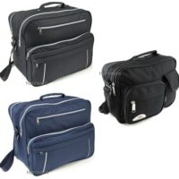 UNIVERSAL MESSENGER SHOULDER FLIGHT CABIN OVERNIGHT WORK TRAVEL HOLDALL MAN BAG