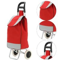 Strong Wheelie Shopping Trolley Extra Large Capacity Folding Durable Wheeled Bag