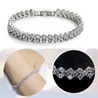 Womens Lady Bracelet 925 Sterling Silver Jewellery Classic Solid Bangle Gift UK