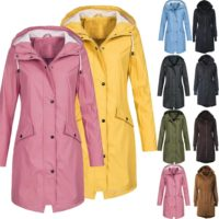 Womens Hoodies Coat Regatta Jacket Parka Hooded Ladies Overcoats Plus Size Coat