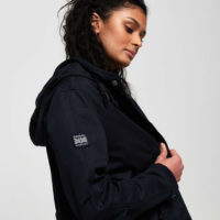 Superdry Womens Rookie Bonded Parka Jacket