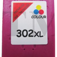 302 XL Colour Remanufactured Ink Cartridges For HP Officejet 3835 Printers