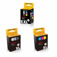 Original Kodak 5XL Verite Black & Colour Ink Cartridges For Verite 55 Printer