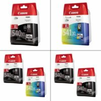 Genuine Canon PG-540 / XL & CL-541 / XL Ink Cartridges For Canon PIXMA Printers