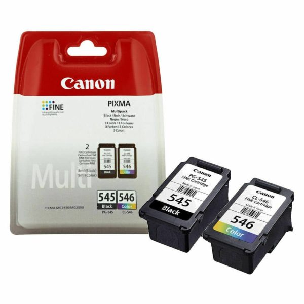 Canon PG545 CL546 PG545XL CL546XL Ink Cartridges For PIXMA MG2450 Printer