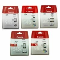 Original Canon PG-545/XL & CL-546/XL Ink Cartridges for Canon PIXMA Printer Lot