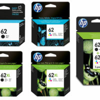 Original HP 62 / 62XL Black & Colour Ink Cartridges For ENVY 5640 Printer
