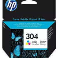 Genuine Original HP 304 Colour Ink Cartridge For DeskJet 2620 2630 2632 Printer