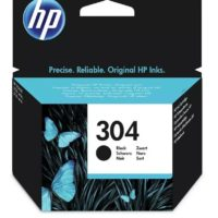 Genuine Original HP 304 Black Ink Cartridge For DeskJet 2620 2630 2632 Printer