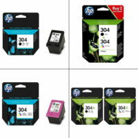 Genuine HP 304 / 304XL / Black / Colour Ink Cartridges For DeskJet 2620 Printer