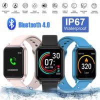 UK Fitness Smart Watch Sports Activity Tracker IP67 Fit bit style Fast Shipping