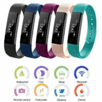 Smart Band Watch Bracelet Wristband Fitness Tracker Heart Rate Step Counter
