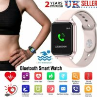 IP67 Smart Watch Bluetooth Heart Rate Blood Pressure Tracker For iPhone Samsung