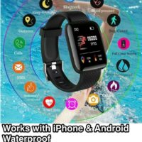 Smart Watch FITBIT Bluetooth Heart Rate Blood Pressure Monitor Fitness Tracker
