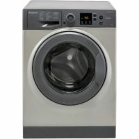 Hotpoint NSWM943CGGUK A+++ Rated 9Kg 1400 RPM Washing Machine Graphite New