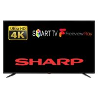 "Sharp 4T-C55BJ2KO2FB 55"" Smart LED TV 4K Utra HD Wi-Fi With Freeview Play"