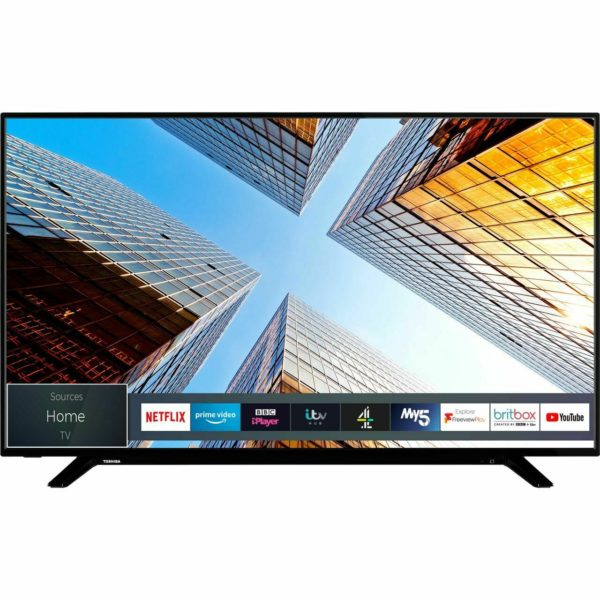 Toshiba 55UL2063DB 55 Inch TV Smart 4K Ultra HD LED Freeview HD 3 HDMI Dolby