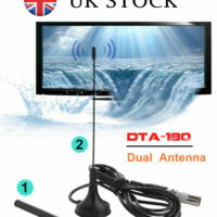 Best Portable TV Antenna Indoor Outdoor Digital HD Freeview Aerial Ariel 2020 UK