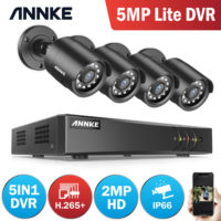 ANNKE 8CH 5IN1 DVR 3000TVL CCTV Outdoor Camera Home Security System IR Cut IP66
