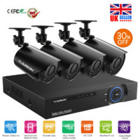 8CH/4CH 1080N 5IN1 Digital DVR 720P Outdoor Home Security Camera CCTV System Kit
