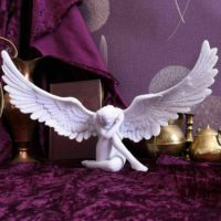 Large HEAVENS ANGEL 36cm Ornament Figurine Statue Home Decoration Memorial Gift