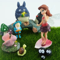 Miniature Fairy and Friends - Fairy Garden Set by Mowbray Miniatures (8 pcs)