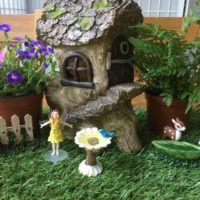 Enchanted Fairy Dolls House Garden Miniature Accessories Forest Pot Decorations