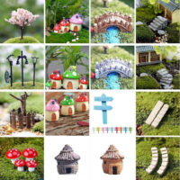 Indoor Outdoor Miniature Fairy Garden Accessories Ideas Kits Supplies Ornaments