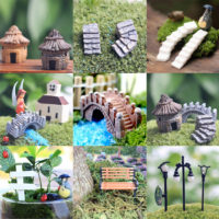 Miniature Fairy Garden Ornament Decor Pot DIY Craft Accessories Dollhouse New UK