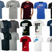Nike Air Max Logo Mens T-shirt Top Black White Navy Top S, M, L, XL