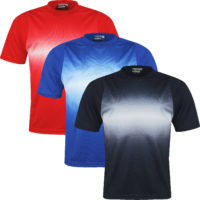 New Mens Breathable T Shirt Cool Dry Sports Performance Wicking Running Gym Top