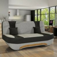Sofa Bed Ewa II with Storage Container Sleep Function New