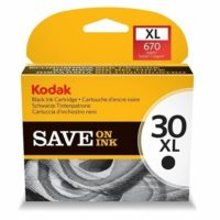 Genuine Kodak 30XL Black Ink Cartridge - For Kodak Printers - High Capacity
