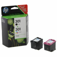 HP 301 Black & Colour Ink Cartridge Combo Pack For ENVY 5530 Printer