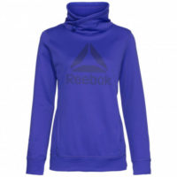 Ladies Women's New Reebok Hoody Hooded Sweater Hoodie Jumper Sweatshirt Jacket