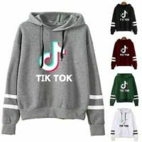 Women Tik Tok Pullover Hoodie Long Sleeve Hooded Sweatshirt Jumpers Overcoat Top