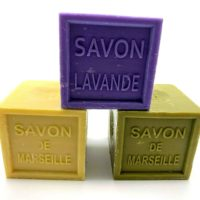 Savon de Marseille CUBE 300g French Natural Soap Pur 72% D'huile