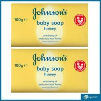 Johnsons Baby Soap Bars 100g Hand Soap Body Soap Bath Face Soap Bar UK
