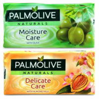 PALMOLIVE SOAP NATURALS MOISTURE DELICATE CARE BODY FACE HAND WASH BAR 90g