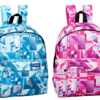 Boys Girls Pink Blue Backpack Rucksack School College Travel Work Laptop Bag