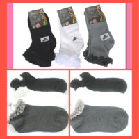 3-6- 12 PAIR Girls Back To School Socks -Girls Lace Frill Sock-KIDS FRILLY SOCK