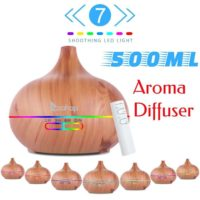 Essential Oil Diffuser Aroma Ultrasonic Air Mist Humidifier Purifier 7 Color LED