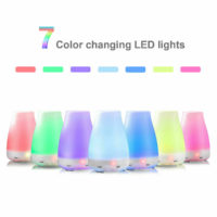 7 Color Ultrasonic Air Humidifier Purifier Diffuser Aroma Essential Oil Baby LED