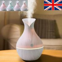 Aroma Essential Oil Diffuser Air Purifier Ultrasonic Aromatherapy Humidifier JD